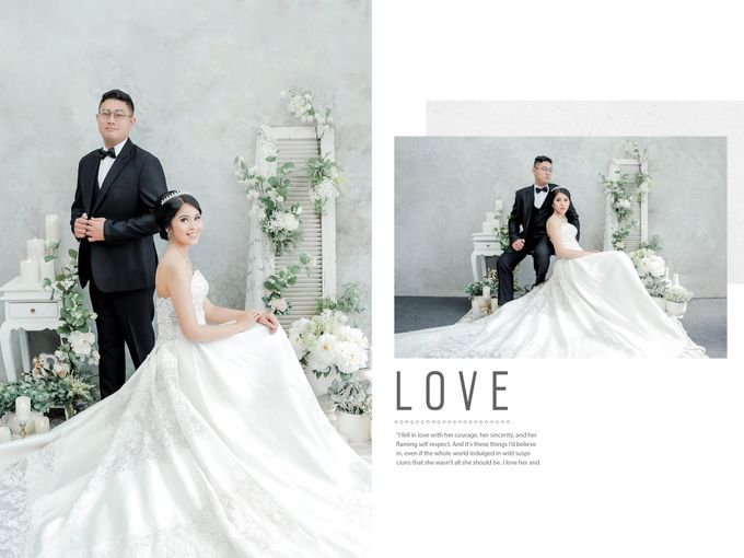Prewedding of Alam & Grace by Michelle Bridal - 004