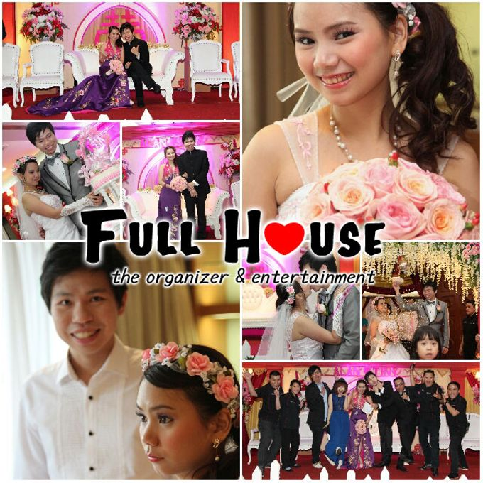 the wedding of Alan & Tiny - 24 Mei 2014 by Full House the organizer & entertainment - 001