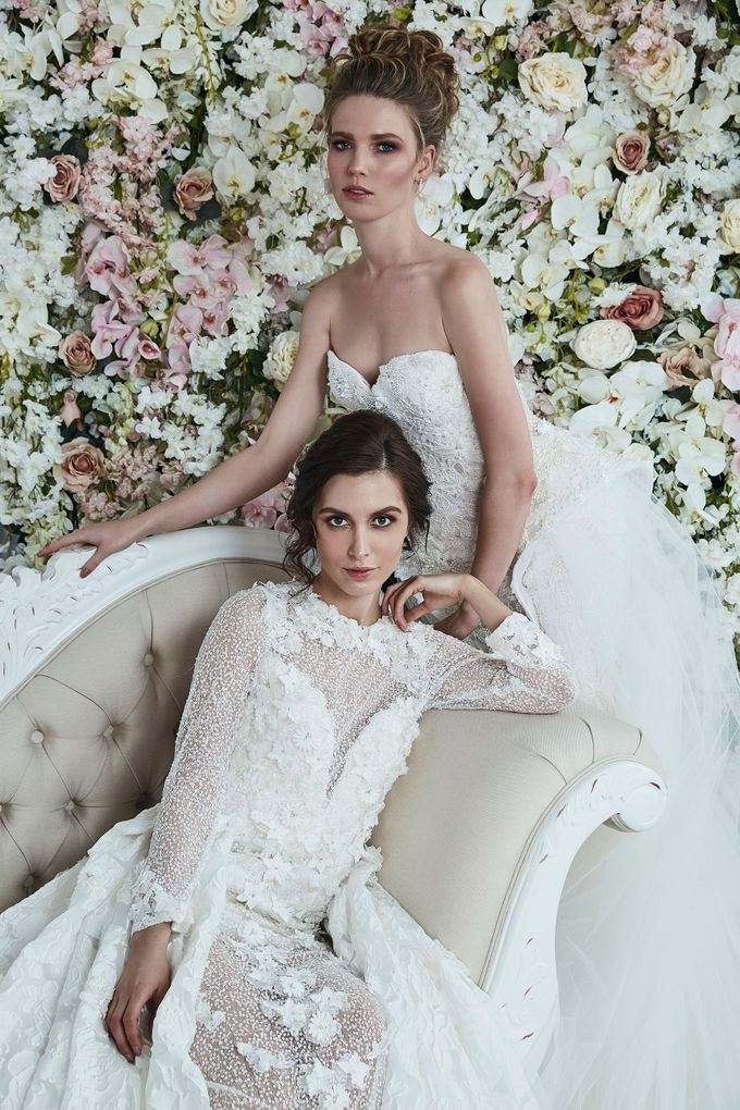 Alana Aoun 2017 Couture Collection La Vie En Rose by Alana Aoun - 010