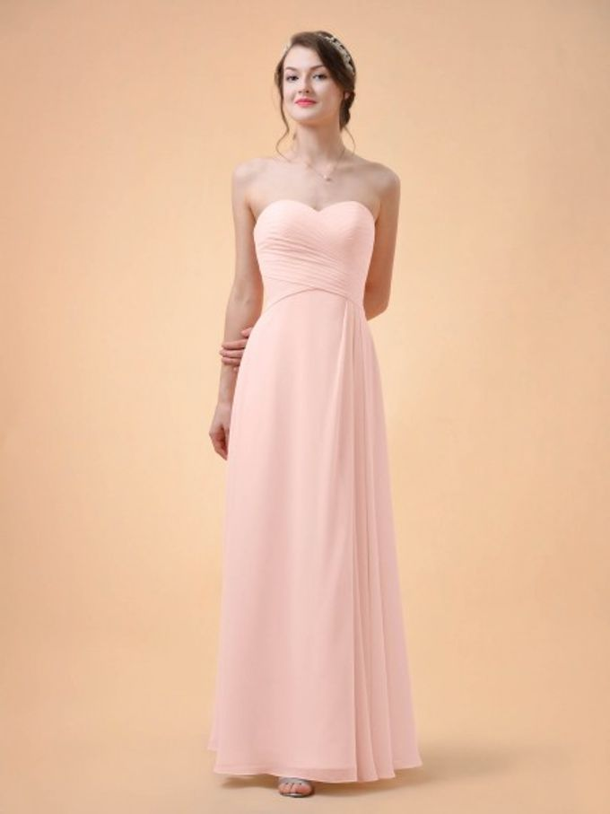 Bridesmaids Dresses by AWEI Bridal - 003