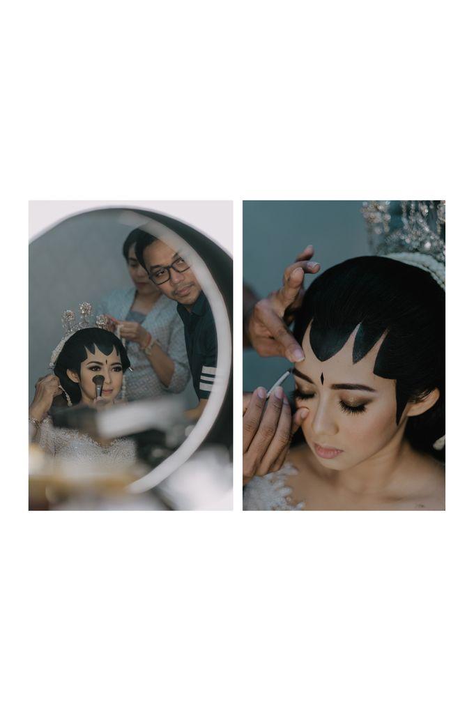 Annisa & Tyo Wedding by Bubah Alfian Make Up Artist - 001