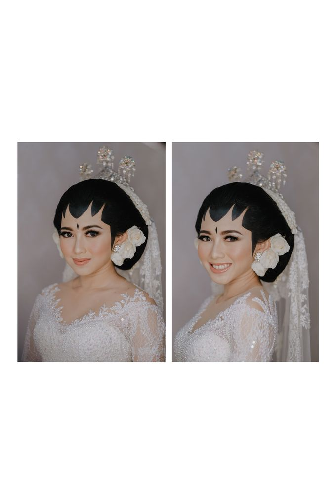 Annisa & Tyo Wedding by Bubah Alfian Make Up Artist - 002