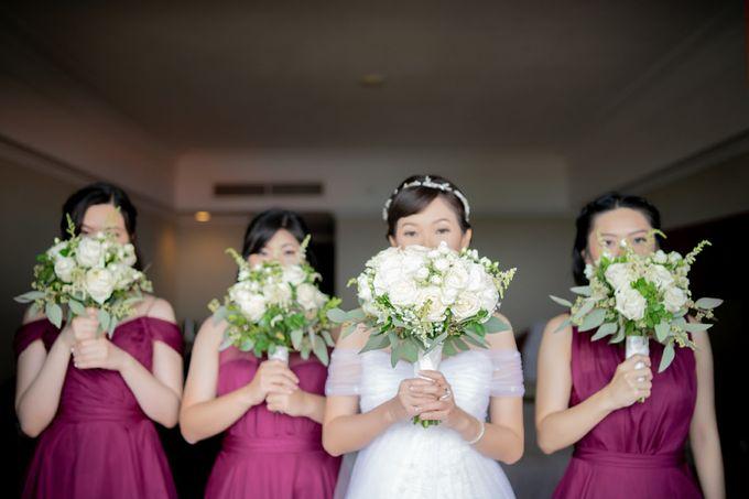 The Wedding Of Alexander & Veriana by Hilton Bali Resort - 007
