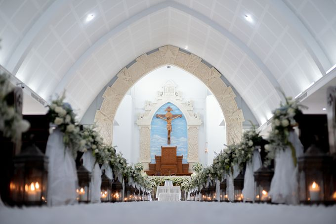 The Wedding Of Alexander & Veriana by Hilton Bali Resort - 028