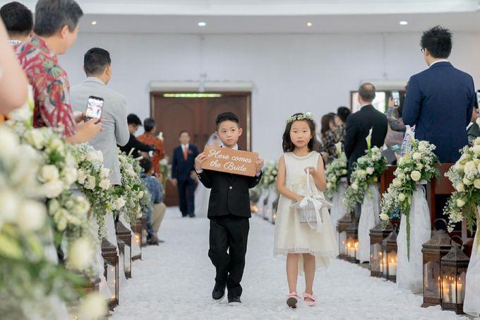 The Wedding Of Alexander & Veriana by Hilton Bali Resort - 029