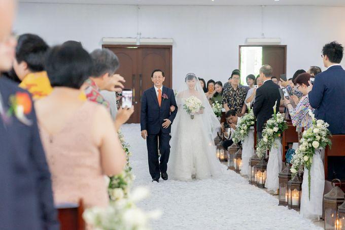 The Wedding Of Alexander & Veriana by Hilton Bali Resort - 030
