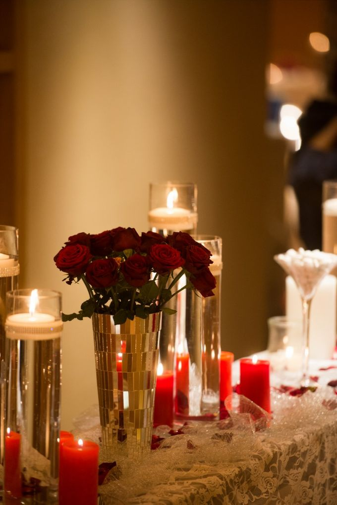Luxury Christmas Red & Gold Wedding by Diamond Events - 041