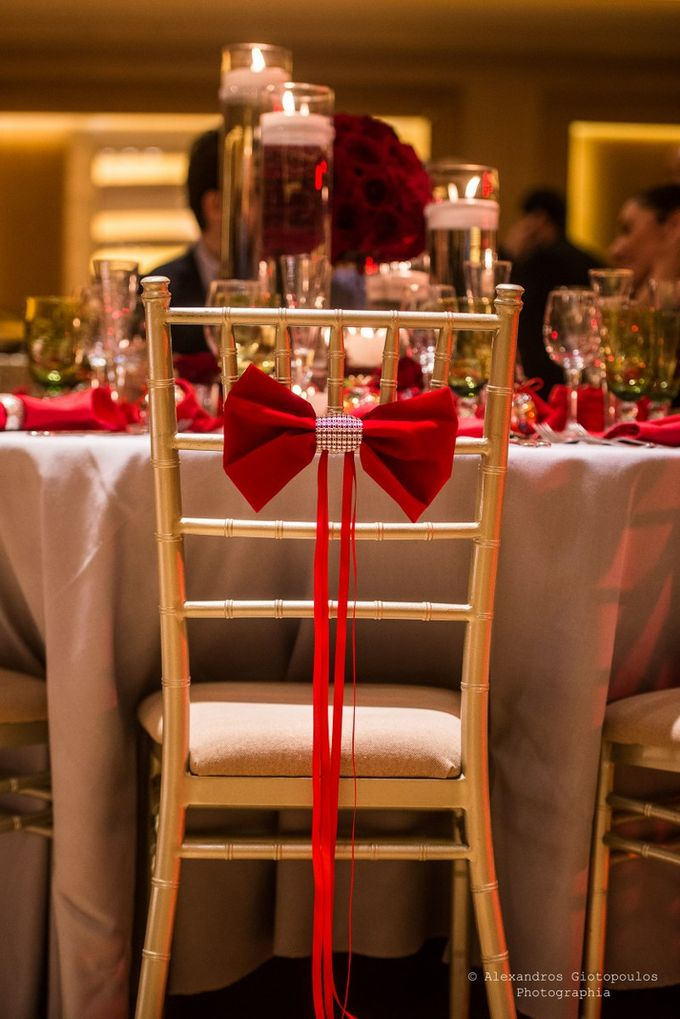Luxury Christmas Red & Gold Wedding by Diamond Events - 045
