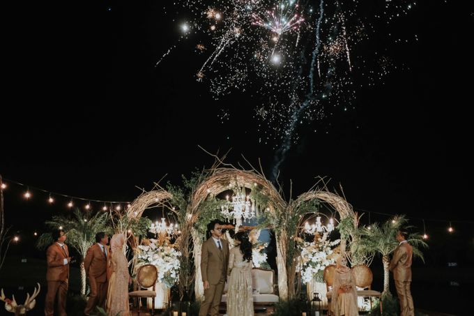 Ocil & Bimo Wedding by BUKIT DARMO GOLF SURABAYA - 034