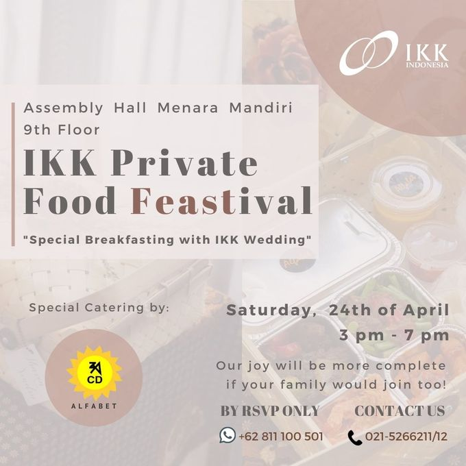 IKK Private Food Feastival by  Menara Mandiri by IKK Wedding (ex. Plaza Bapindo) - 001