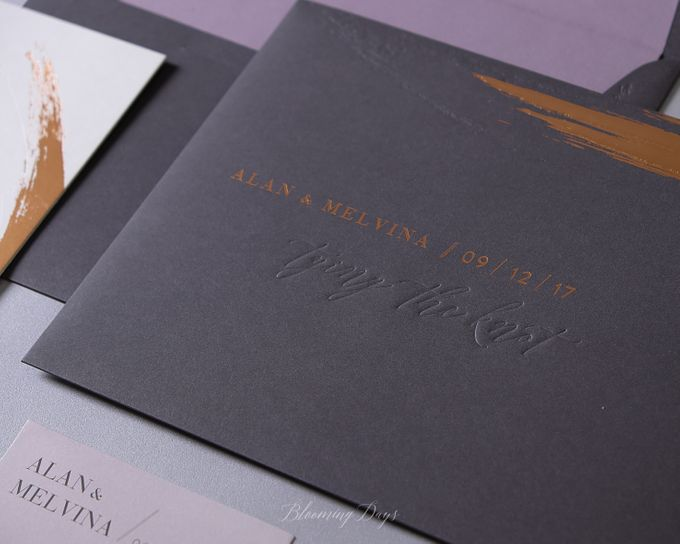 ALWAYS AND FOREVER by BloomingDays Invitation Studio - 004