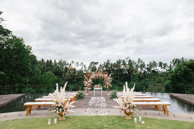 STELLA & ANKIT WEDDING by Kamandalu Ubud - 001