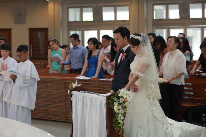 St Matias Rasul - Ryan & Elrina Wedding by Impressions Wedding Organizer - 007