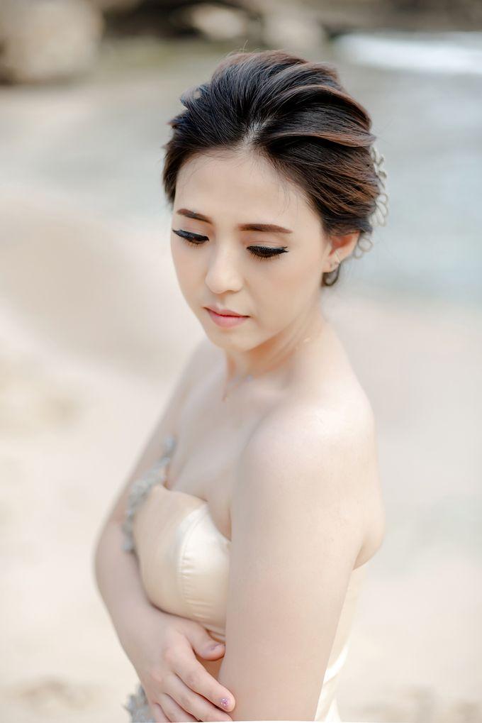 Prewedding Makeup for Evelyn by Satrisca Makeup Artist - 003