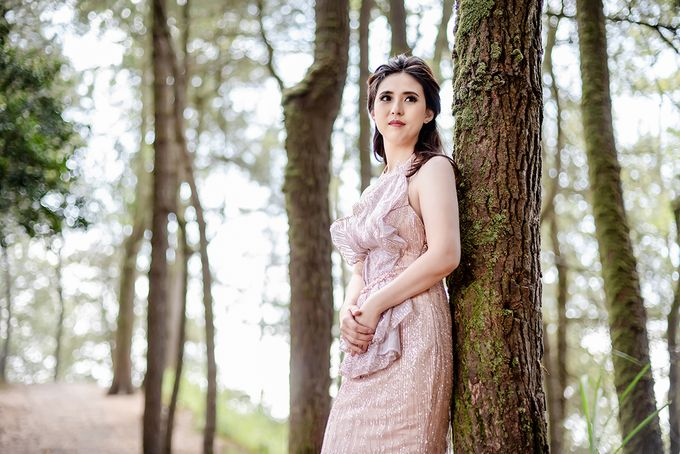 Prewedding Makeup for Evelyn by Satrisca Makeup Artist - 004