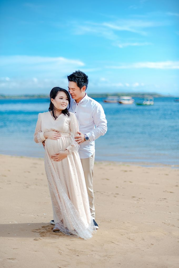 Maternity of Christian & Irene by Satrisca Makeup Artist - 001