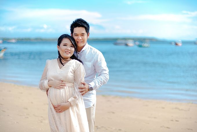 Maternity of Christian & Irene by Satrisca Makeup Artist - 002