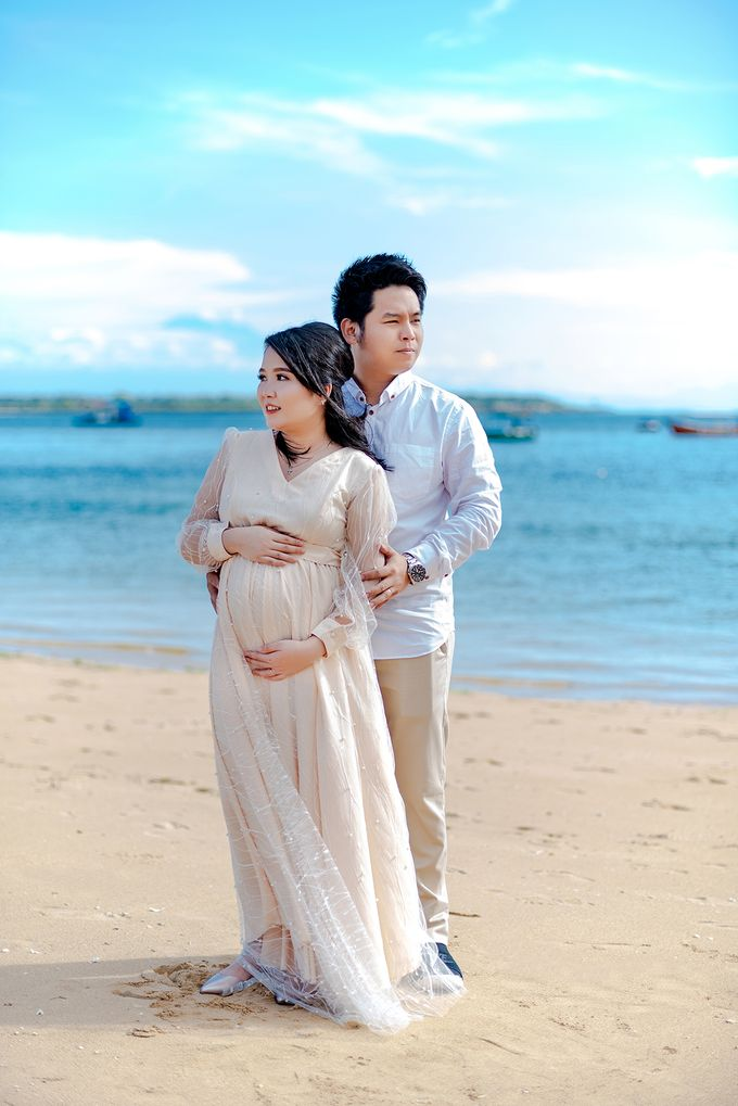 Maternity of Christian & Irene by Satrisca Makeup Artist - 003