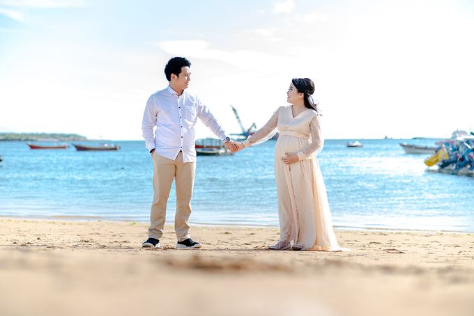 Maternity of Christian & Irene by Satrisca Makeup Artist - 005