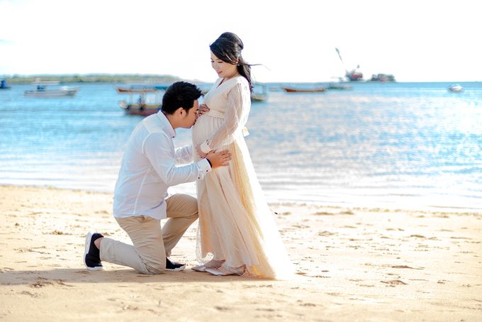 Maternity of Christian & Irene by Satrisca Makeup Artist - 006