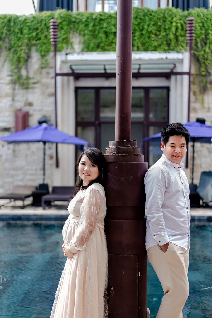 Maternity of Christian & Irene by Satrisca Makeup Artist - 025