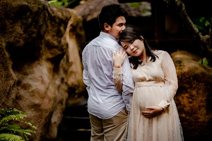Maternity of Christian & Irene by Satrisca Makeup Artist - 035