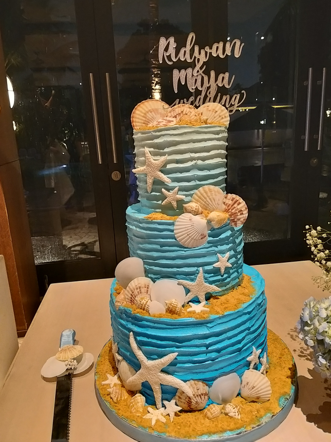 Ridwan&Maya Wedding by Alycia's Cake - 001