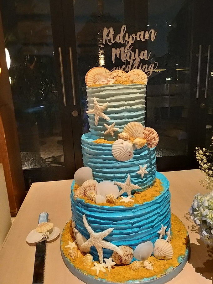 Ridwan&Maya Wedding by Alycia's Cake - 002