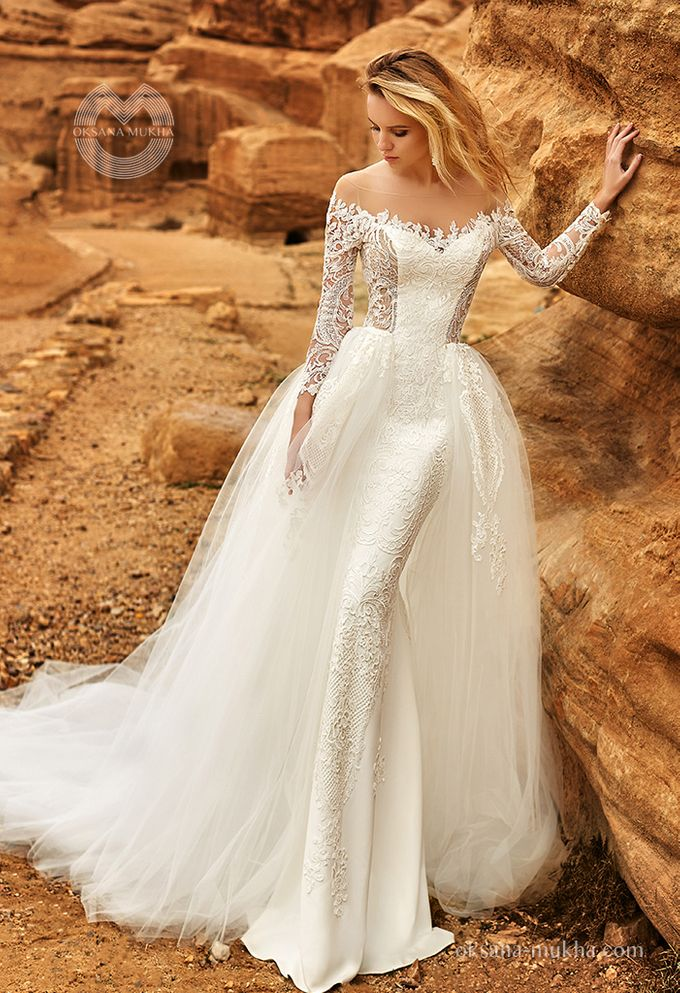 Weddiong Collection 2019 by OKSANA MUKHA - 007