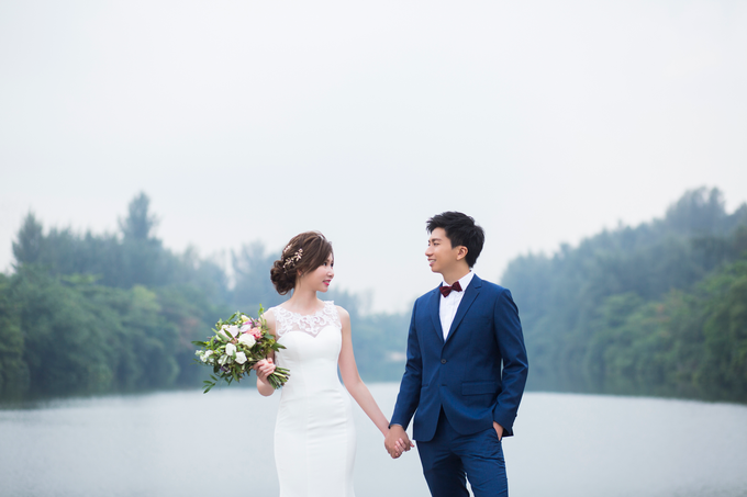 Lindy's Pre Wedding by Amanda Cheong~Make-up Artist - 001