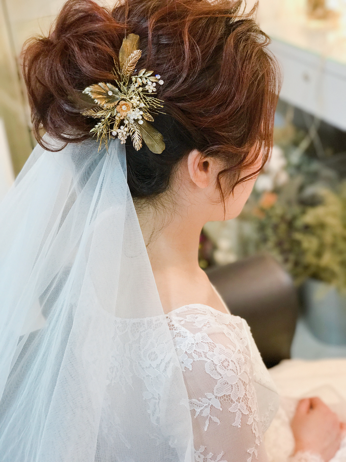 Joan's Pre Wedding Hairstyles by Amanda Cheong~Make-up Artist - 001