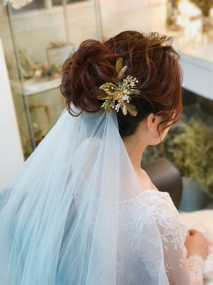 Joan's Pre Wedding Hairstyles by Amanda Cheong~Make-up Artist - 002