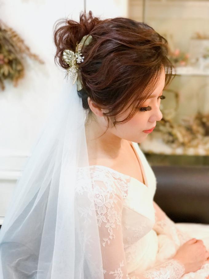 Joan's Pre Wedding Hairstyles by Amanda Cheong~Make-up Artist - 003