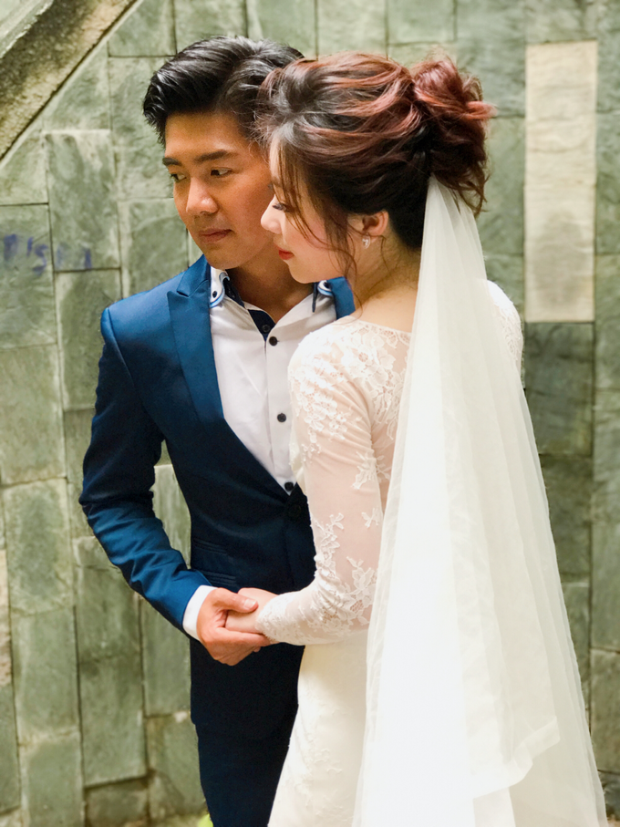 Joan's Pre Wedding Hairstyles by Amanda Cheong~Make-up Artist - 005