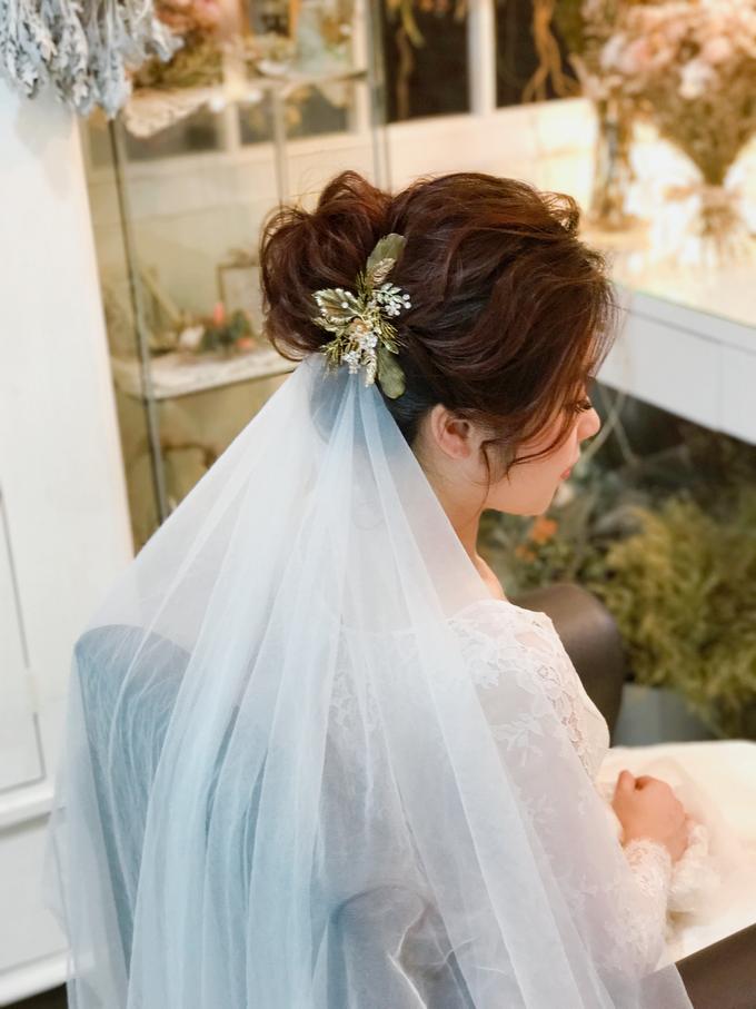 Joan's Pre Wedding Hairstyles by Amanda Cheong~Make-up Artist - 004