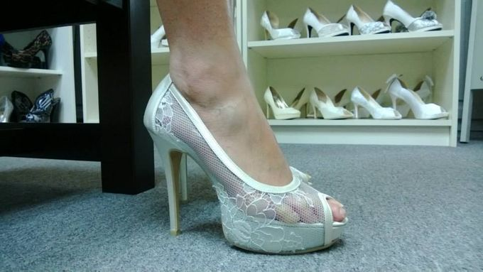 Bridal Shoe Close Ups by Christy Ng Shoes - 022