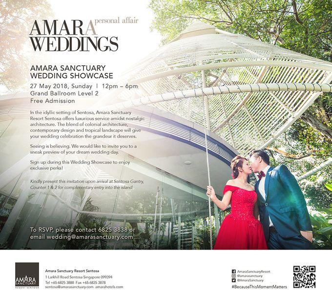 Amara Sanctuary Resort Wedding Open House - May 2018 by Amara Sanctuary Resort Sentosa - 001