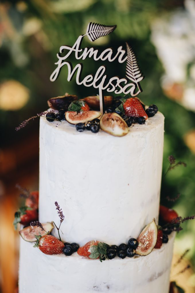 Amar & Melissa by Ame Cakery - 001
