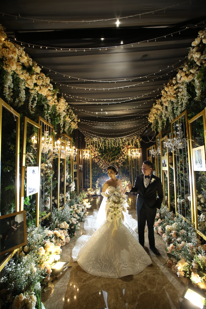 ANDREE & FELINA WEDDING by AMITIE Bridal Accessories - 005