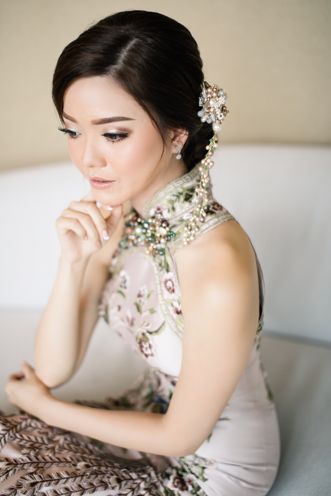 JESSICA & HANS SANGJIT DAY by AMITIE Bridal Accessories - 003