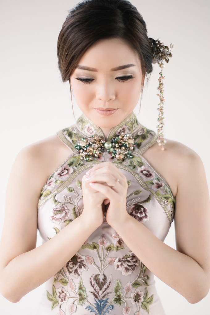 JESSICA & HANS SANGJIT DAY by AMITIE Bridal Accessories - 006