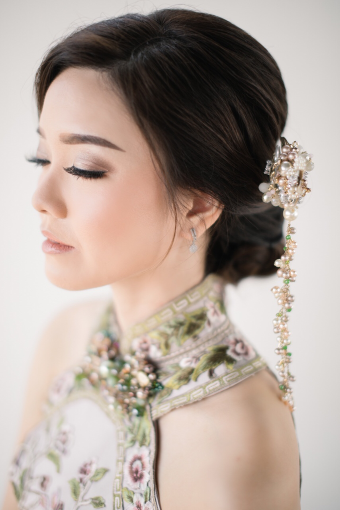 JESSICA & HANS SANGJIT DAY by AMITIE Bridal Accessories - 010
