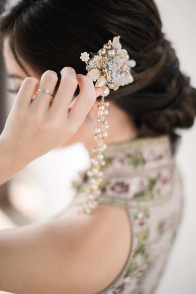JESSICA & HANS SANGJIT DAY by AMITIE Bridal Accessories - 009