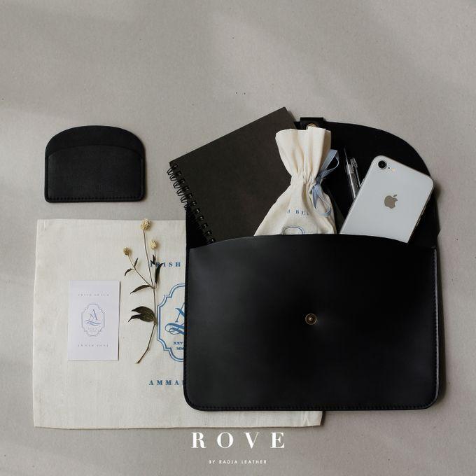 Ammar Zoni & Irish Bella - Custom Clutch & Card Wallet by Rove Gift - 003