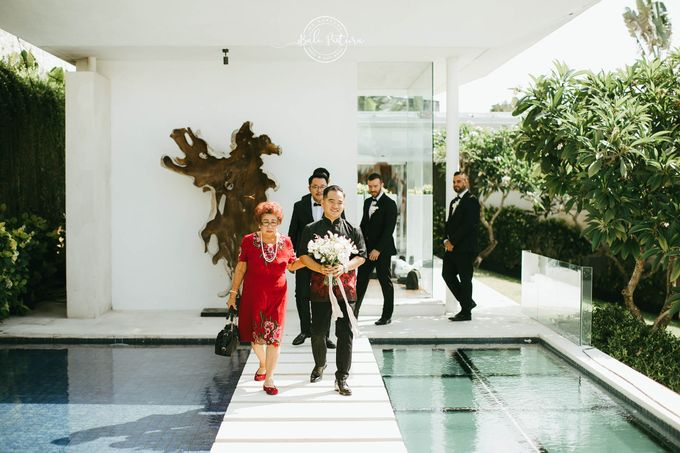 Great Gatsby Wedding Theme in Bali by paul make up artist - 012