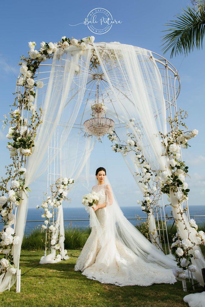 Great Gatsby Wedding Theme in Bali by paul make up artist - 025
