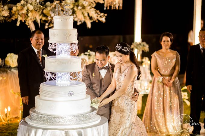 Great Gatsby Wedding Theme in Bali by paul make up artist - 045