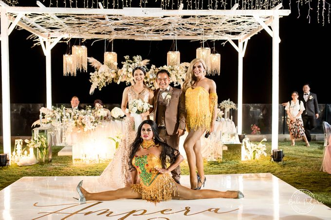 Great Gatsby Wedding Theme in Bali by paul make up artist - 047