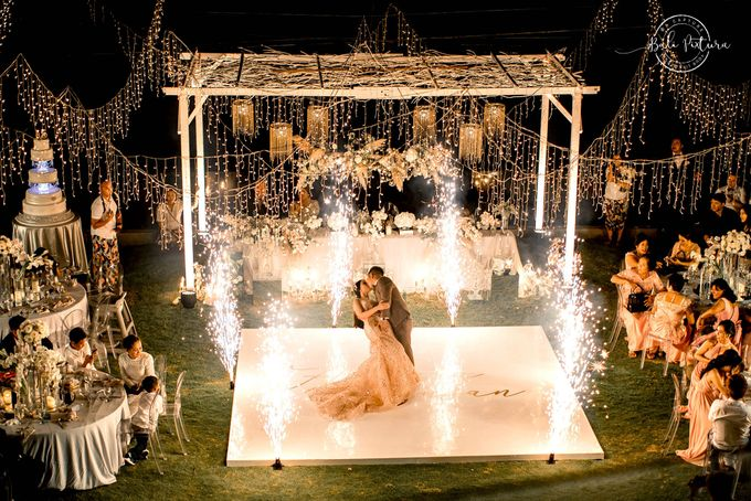 Great Gatsby Wedding Theme in Bali by paul make up artist - 048
