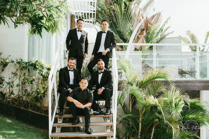 Great Gatsby Wedding Theme in Bali by paul make up artist - 006